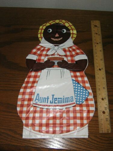 Vintage RARE Jemima Oil Cloth Doll 1940s.