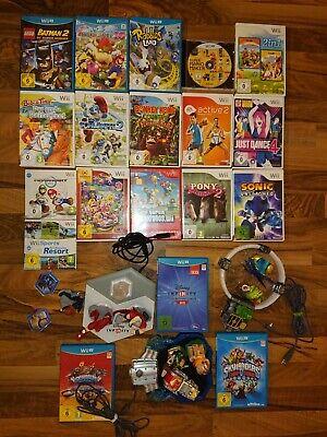 Nintendo Wii / Wii U Spiele z.B. (Mario Bros., Kart, Party, Donkey Kong, ...)