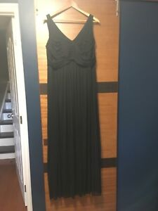 Bridesmaid dress wore once (black)