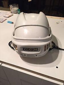 CCM old school HT2 medium hockey helmet.