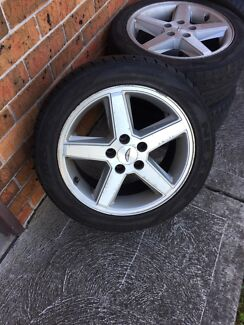 Ford AU Tickford wheels  Maryland 2287 Newcastle Area Preview