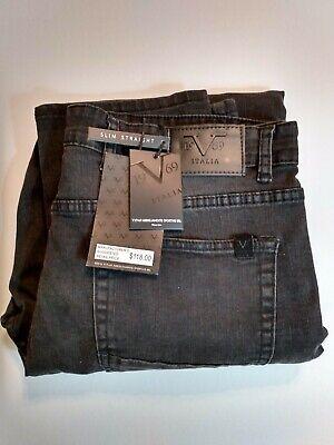 Versace V1969 Italia Mens Sz 34x30 Abbigliamento Sportivo SRL Slim Jeans $118
