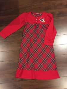 Disney store Christmas nightgown size medium (7/8 I think)