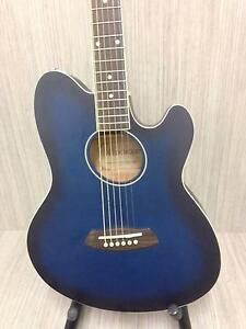 TCY10E-TBS Acoustic-Electric Guitar BLUEBURST STRAT STYLE #48 Girraween Parramatta Area Preview
