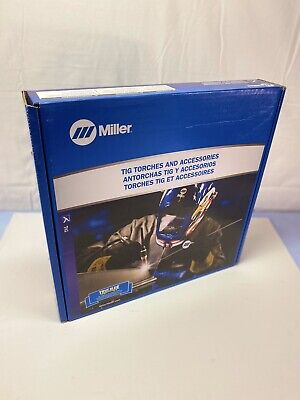 Miller Weldcraft W-125 Micro TIG Torch Kit Medium 25' Vinyl WP-125M-25