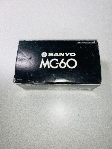 Sanyo Microcassette MC-60 Box of 10 Blank Microcassettes Seal