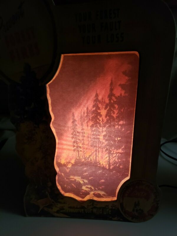 Econolite Motion Lamp. Prevent Forest Fires.Econolite Motion in ADVERTISING...