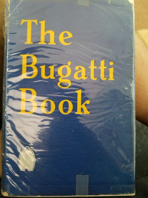 The Bugatti Book by Barry Eaglesfield 1954