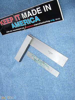 Brownsharpe 540 Vintage 6 Master Square Machinist Toolmaker Inspect Lay-out