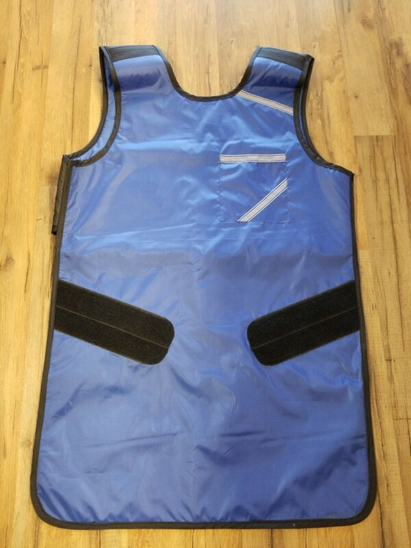 LEAD APRON X-RAY PROTECTIVE  SUPER FLEXIBLE 0.5MM BLUE