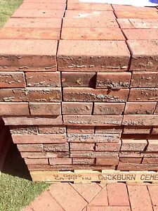 CHEAP - Red Brick Pavers - Midland Brick - 120 available Wembley Cambridge Area Preview