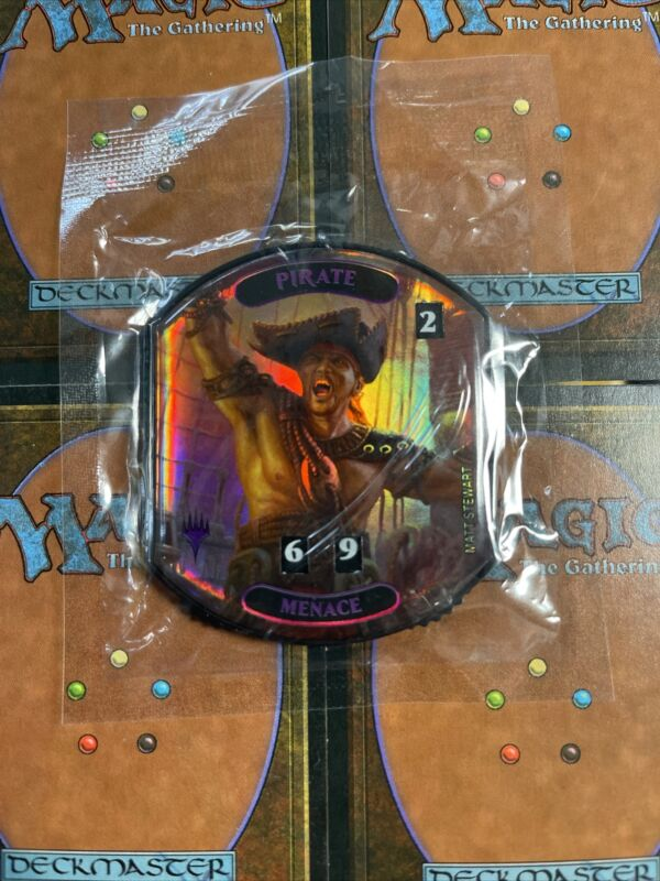 Ultra Pro *pirate Relic Token* Life Counter Magic The Gathering Free Shipping