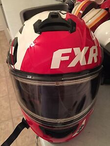 FXR Racing Snowmobile Helmet For Sale