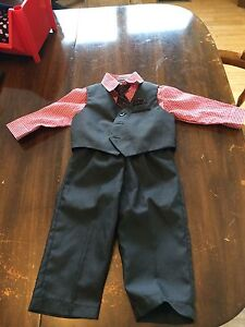 Brand new 9 month baby boy suit