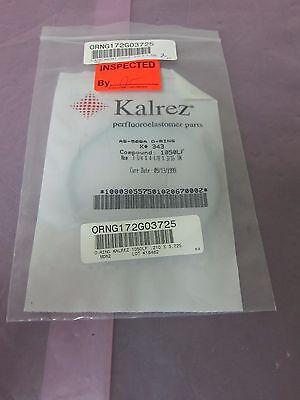 Kalrez 2-343 oring AS-568A, K#343 Compound 1050LF, 0.210X3.725, O-ring 402436