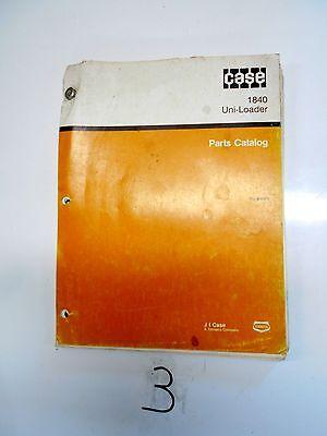Case 1840 Uni-loader Parts Catalog 8-5370