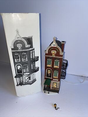 DEPT 56 BEEKMAN HOUSE Christmas in the City Missing Lamp Mount