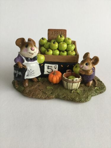 Wee Forest Folk M-187a. Adam's Apples - Limited Edition