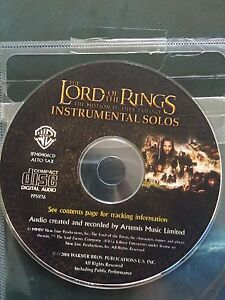 Lord of the rings Alto Sax music sheets book