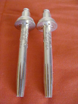 New Old Stock Oxweld Internal Cutting Tips 639601 Series 1566 Propane Lot Of 2