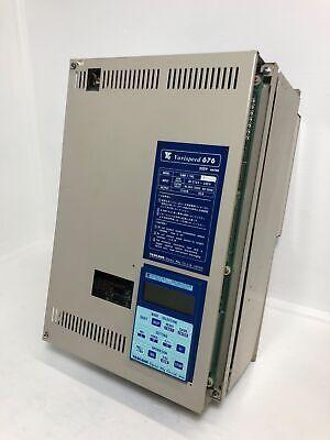 Yaskawa Cimr-11ws.p 20 Varispeed 676 Vs Drive Inverter 200v 15 Kva 50a Cimr11ws