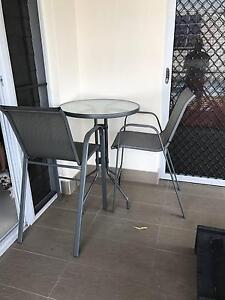 Tall table and bar chairs Brookwater Ipswich City Preview