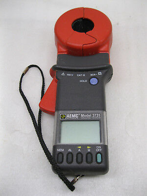 Aemc 3731 Clamp-on Ground Resistance Tester Meter
