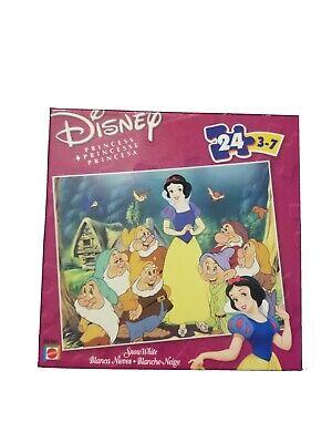 Disney Princess Snow White & Seven Dwarfs Jigsaw Puzzle 100 Piece Brand New NIB