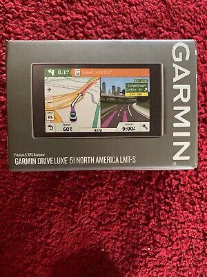Garmin Drive Luxe 51LMT-S GPS Navigator System - Black