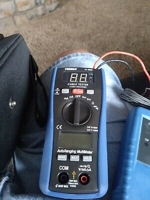 Tenma 72-8505 Multi Tester 6 In1 Digital Multimeter Lan Coax Dcac Voltage Curre