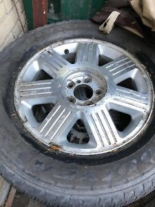 4 all season tires with the rims size rim bolt pattern is 5x127