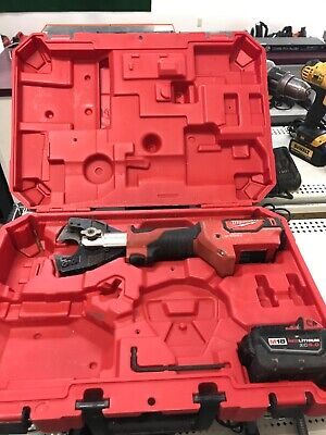 Milwaukee M18 2672-20 18v Cable Cutter With Cual Jaws