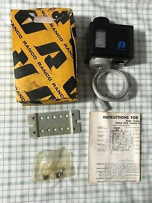 Ranco 010-1408 Temperature Controller -15f To 40f Nos Free Ship