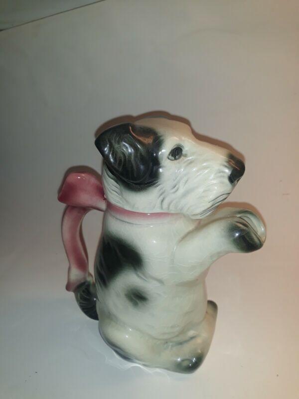 Vintage Terrier Teapot Erphila Germany #6702B