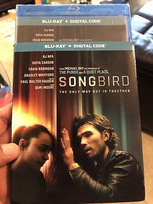 Songbird Blu ray No Digital KJ Apa Demi Moore w/slipcase Pandemic thriller
