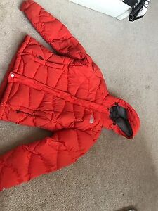 Real north face winter coat