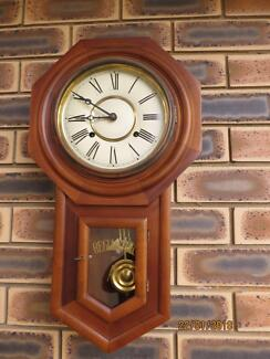 "Vintage"" Regulator"" - a pendulum wall clock"