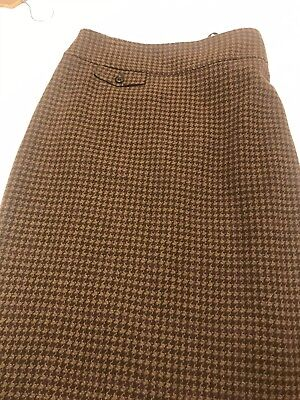 ralph lauren Exclusive LIne Tweed Check Skirt Size 16-18 for sale  Plymouth