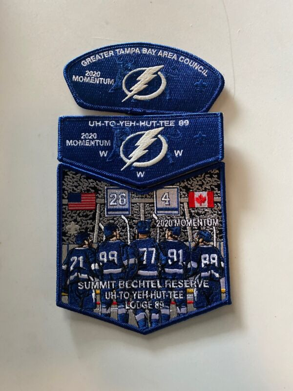 Uh To Yeh Hut Tee Lodge 2020 Momentum Tampa Bay Lightning Flap CSP Dangle G-72A