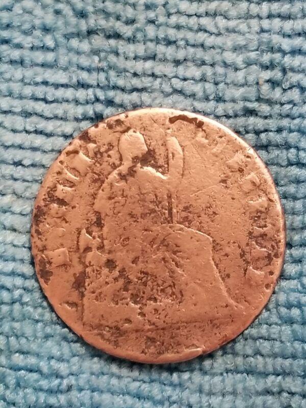 1865 MEXICO CHIHUAHUA QUARTILLO 1/4 REAL  NICE  SCARCE COIN