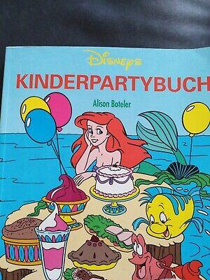 Disney KINDERPARTYBUCH alles ums Thema Kindergeburtstag von dem KUCHEN bis...