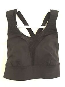 Black lululemon sports bra