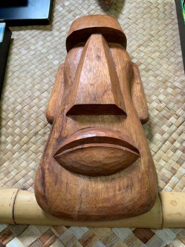New Fat Moai Easter Island Tiki Mask by Doug Horne and Smokin
