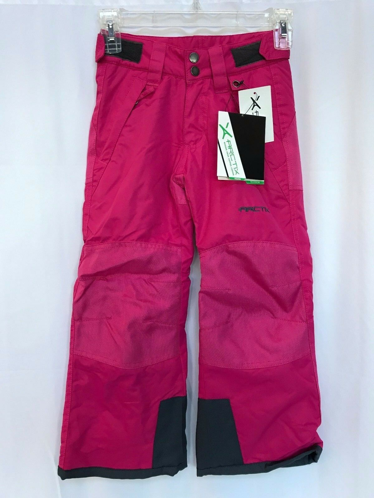Arctix Youth Girls Reinforced Insulated Water-Resistant Snow