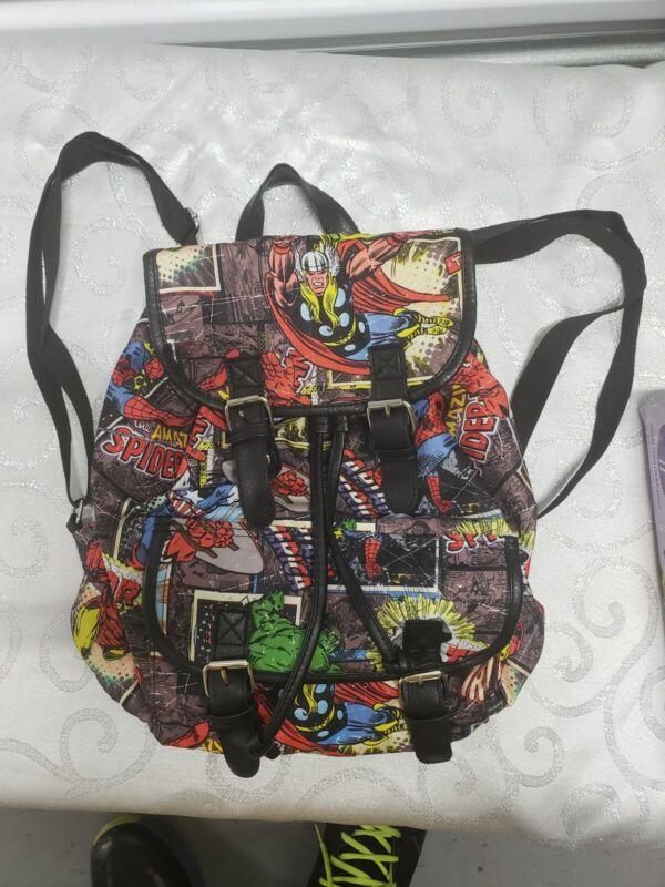 marvel comics backpack Women