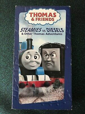 Thomas the Tank Engine - Steamies vs. Diesels & Other Thomas Adventures (VHS)