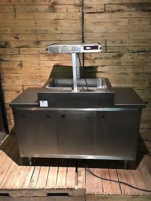 Hatco Food Warmer Glo-ray With Apw Wyott Base Solid Equipment.
