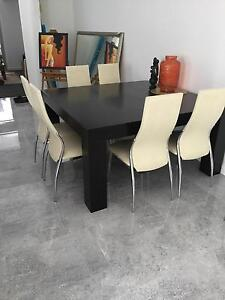 Dining suite Wenger 9 piece Stirling Stirling Area Preview