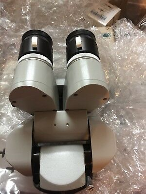Zeiss Opmi Surgical Microscope 0-180 Binoculars F170 T With 10.5 X Eyepieces