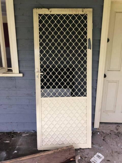 Cream security screen door | Building Materials | Gumtree ...
